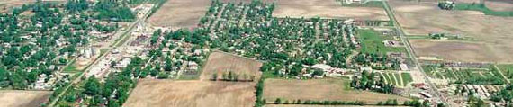 Bargersville aerial view