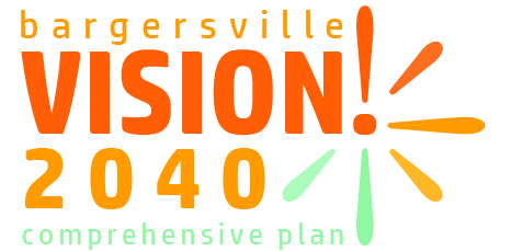 Bargersville VISION 2040 Comprehensive Plan Update logo