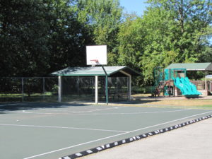 Switzer Park basketball court